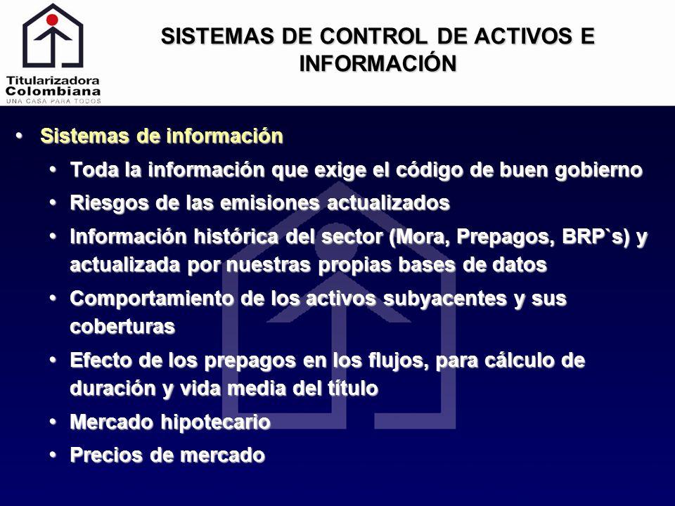 SISTEMAS DE CONTROL DE ACTIVOS E INFORMACIÓN
