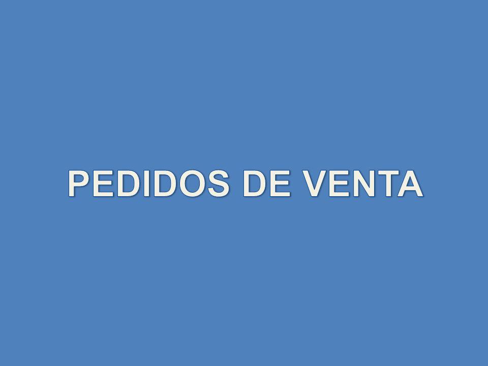 PEDIDOS DE VENTA