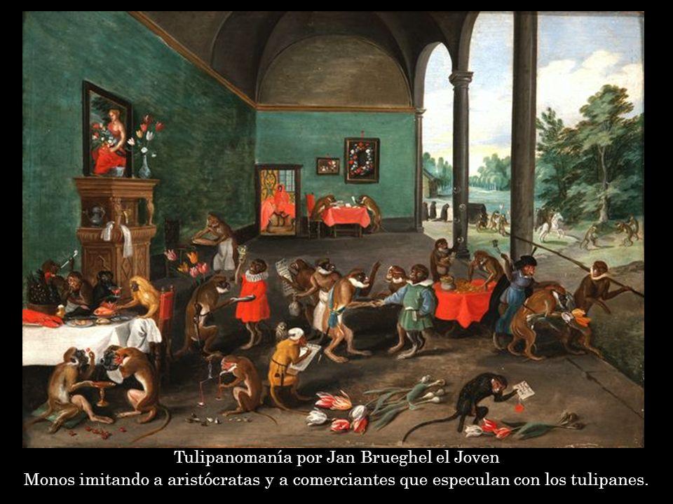Tulipanomanía por Jan Brueghel el Joven