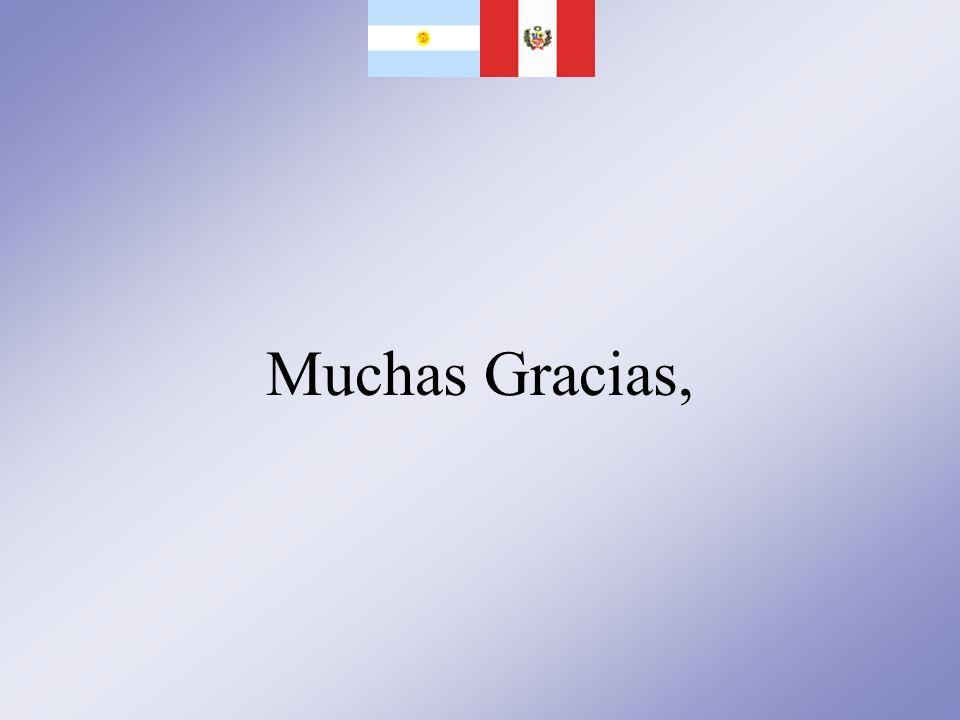 Muchas Gracias,