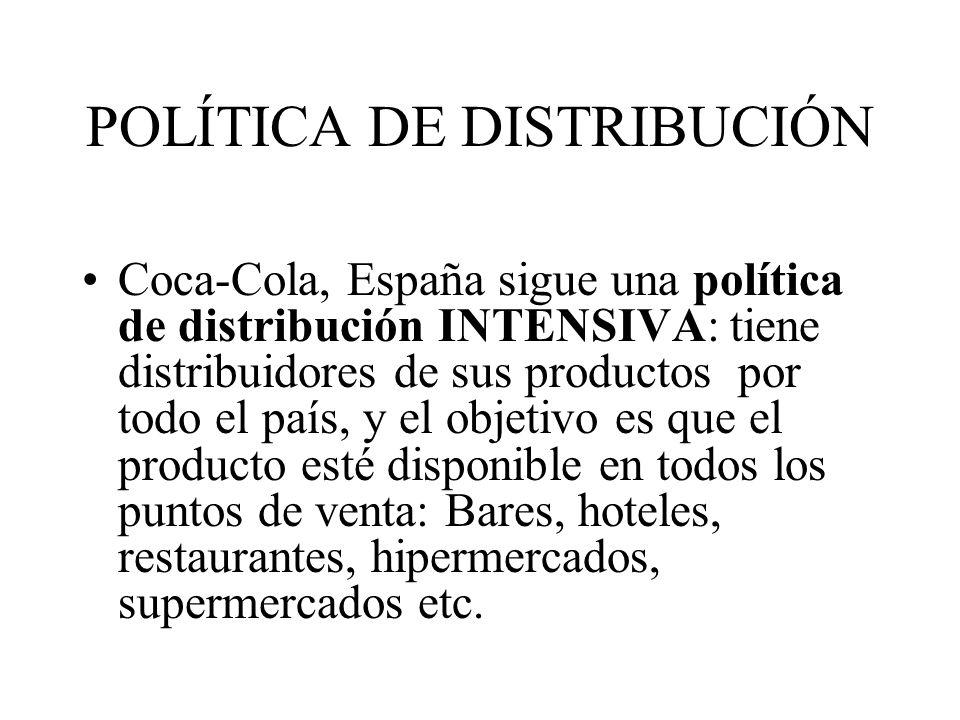 POLÍTICA DE DISTRIBUCIÓN