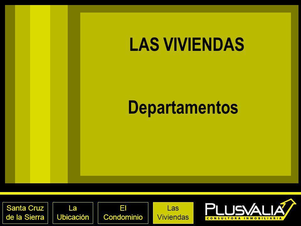 LAS VIVIENDAS Departamentos