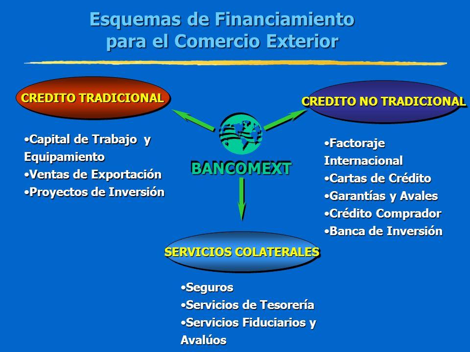 Esquemas de Financiamiento para el Comercio Exterior