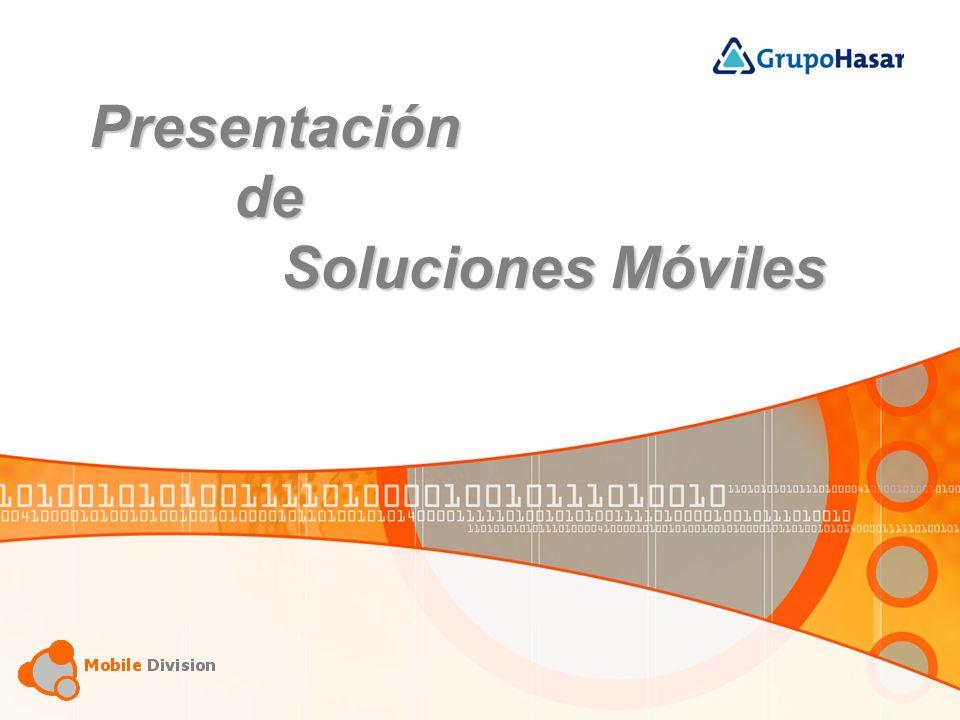 Presentación de Soluciones Móviles