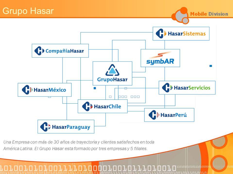 Grupo Hasar Una Empresa con más de 30 aňos de trayectoria y clientes satisfechos en toda.
