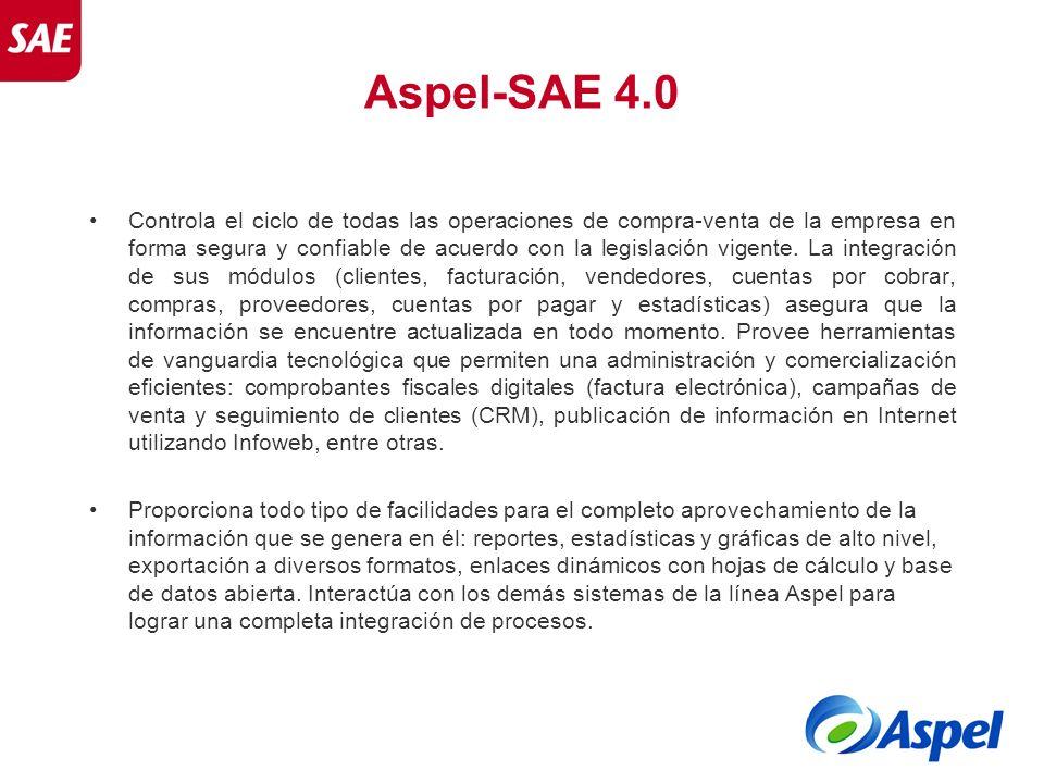 Aspel-SAE 4.0
