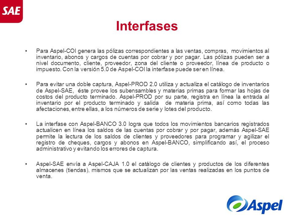Interfases