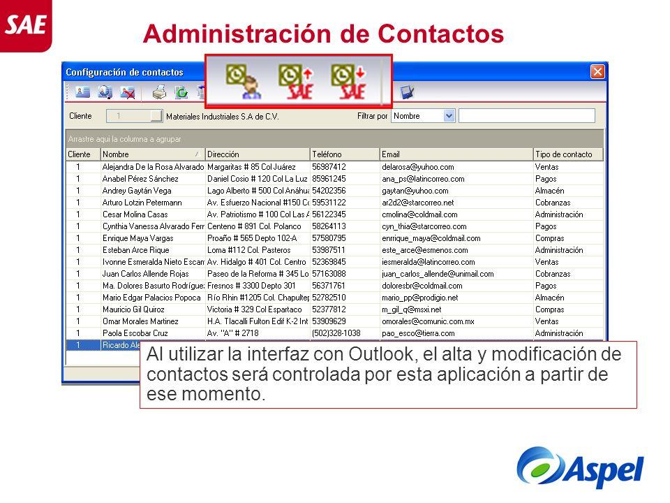 Administración de Contactos