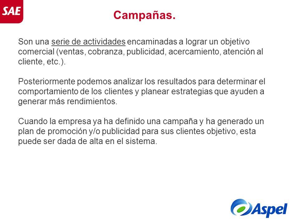 Campañas.