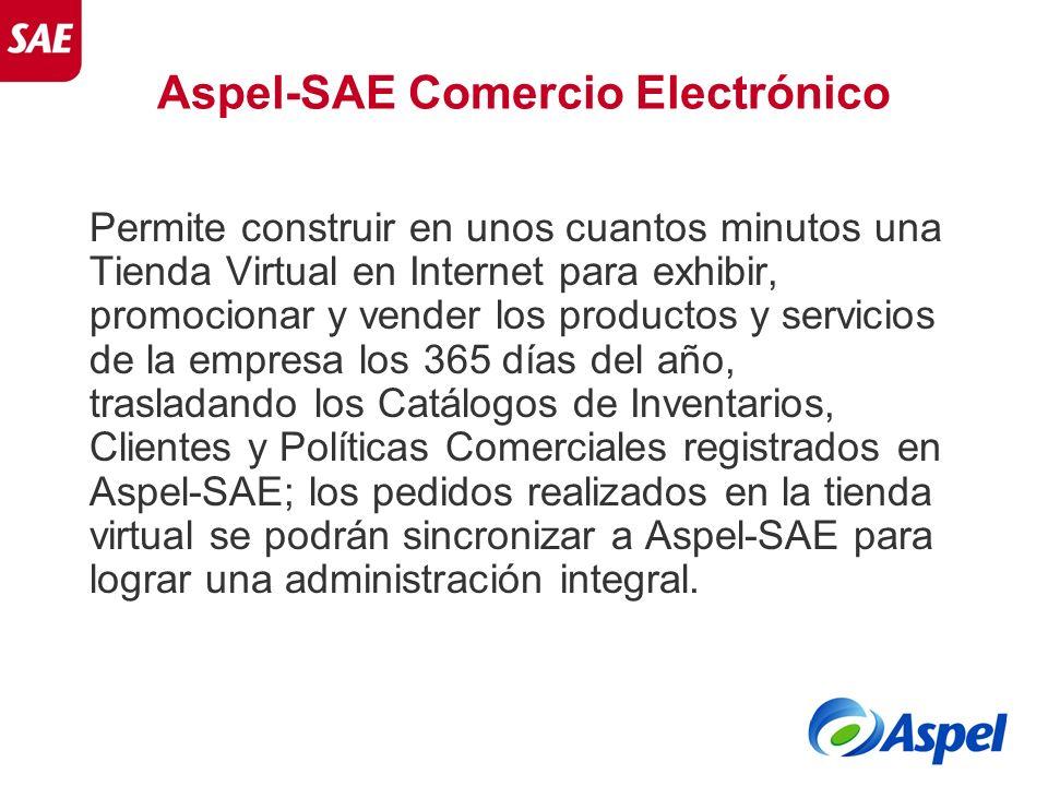 Aspel-SAE Comercio Electrónico