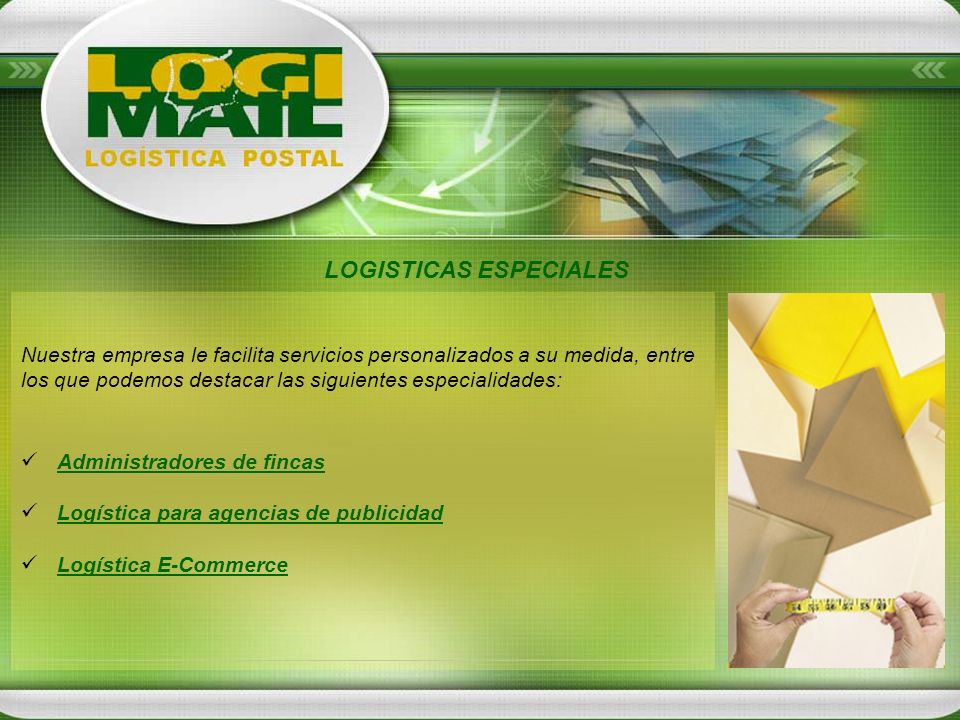 LOGISTICAS ESPECIALES