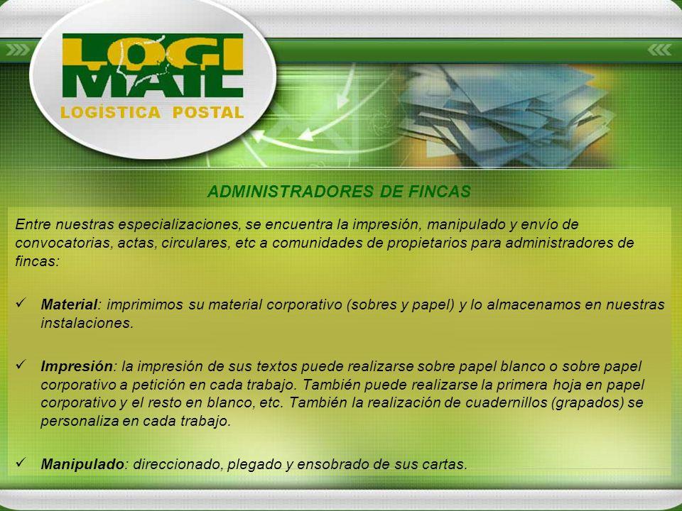 ADMINISTRADORES DE FINCAS