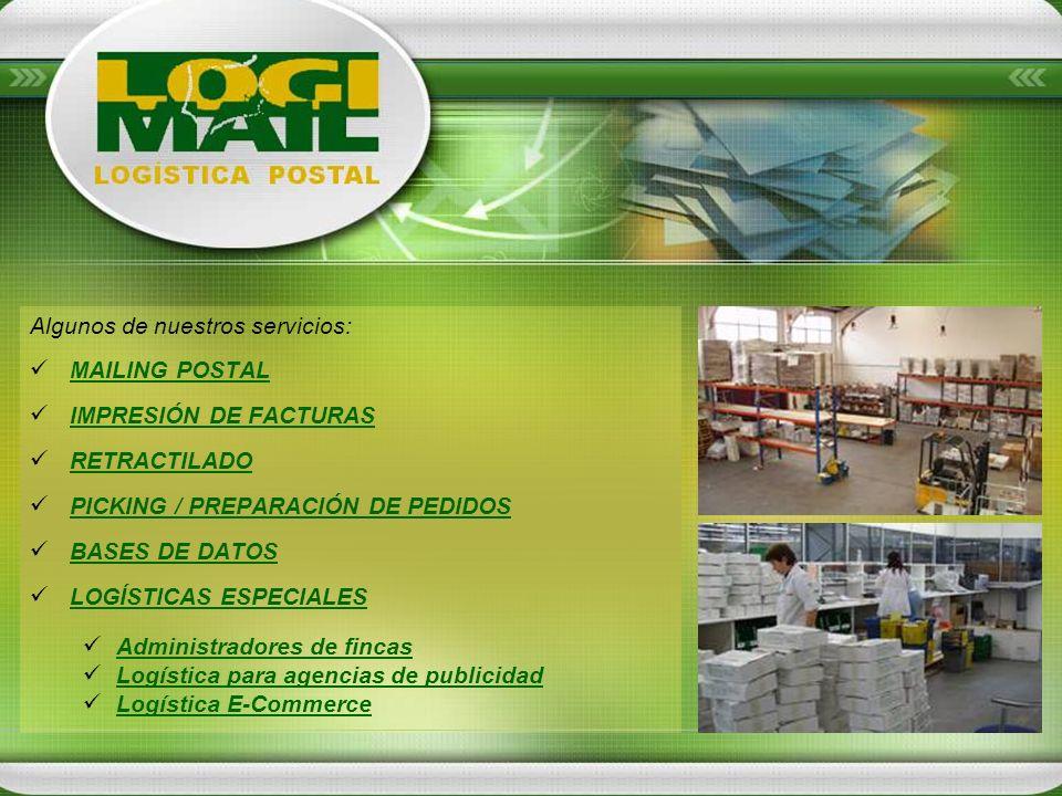 Algunos de nuestros servicios: