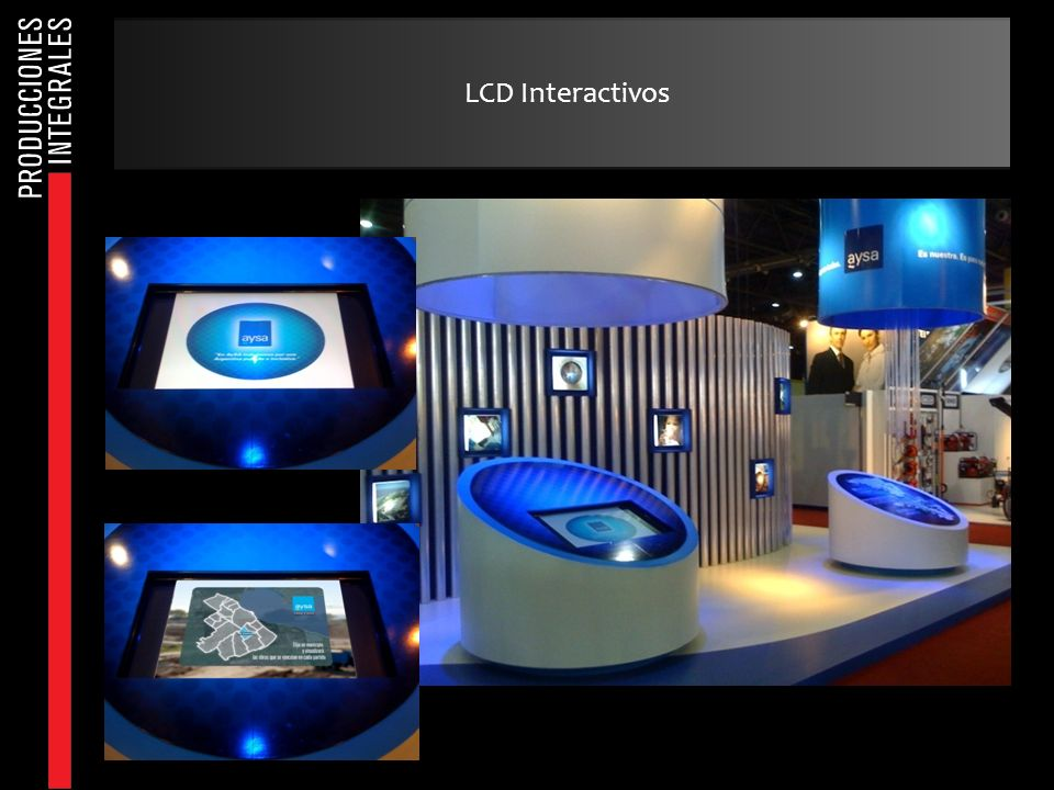 LCD Interactivos