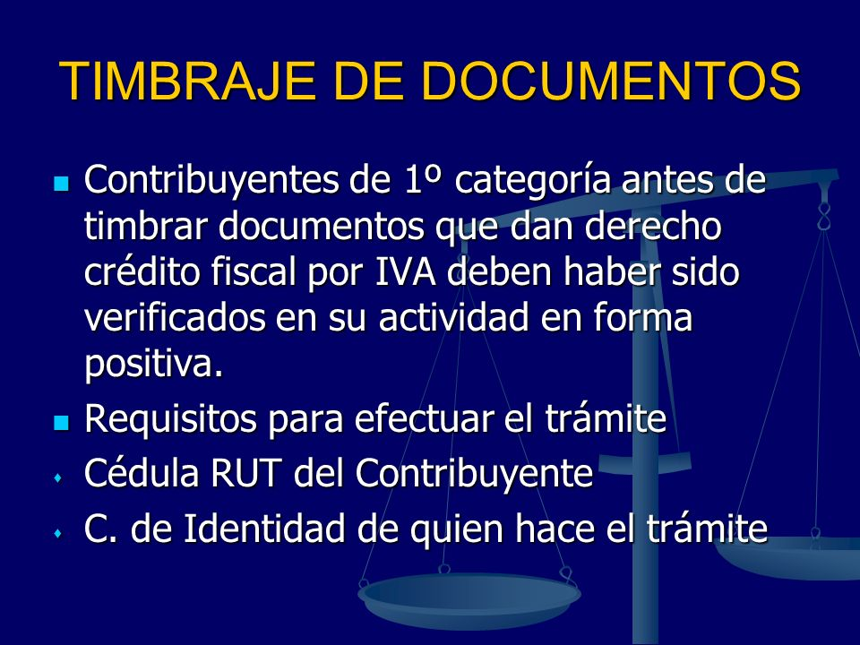 TIMBRAJE DE DOCUMENTOS