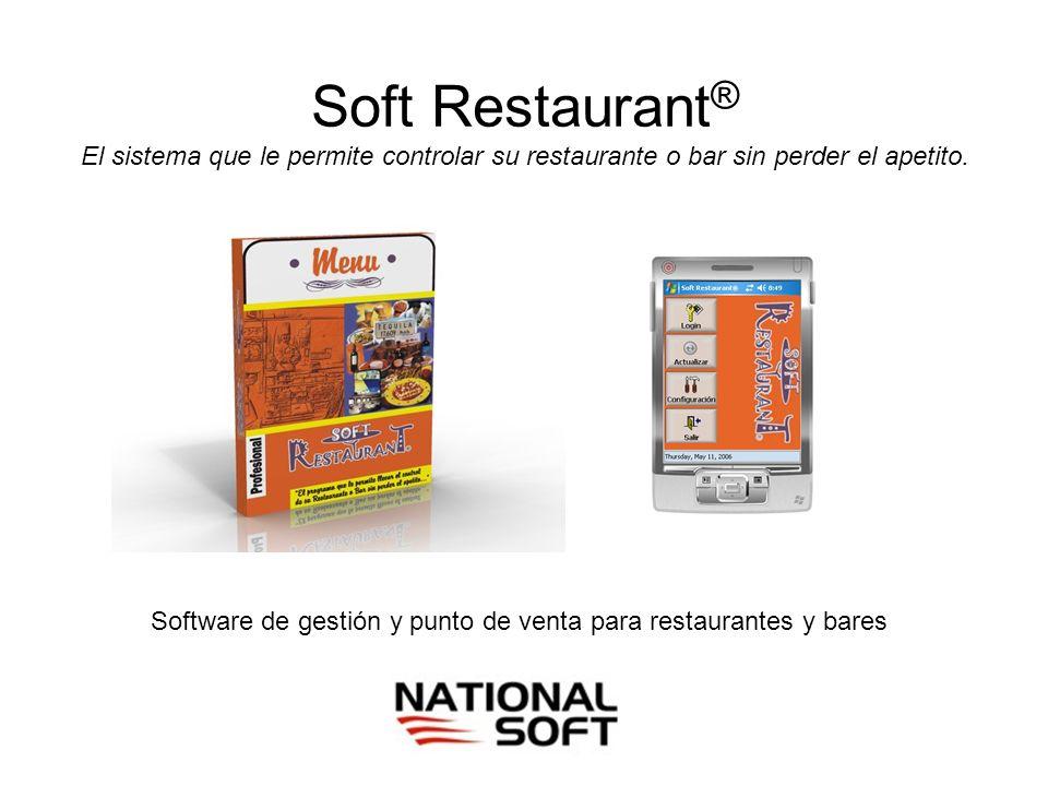 Software de gestión y punto de venta para restaurantes y bares