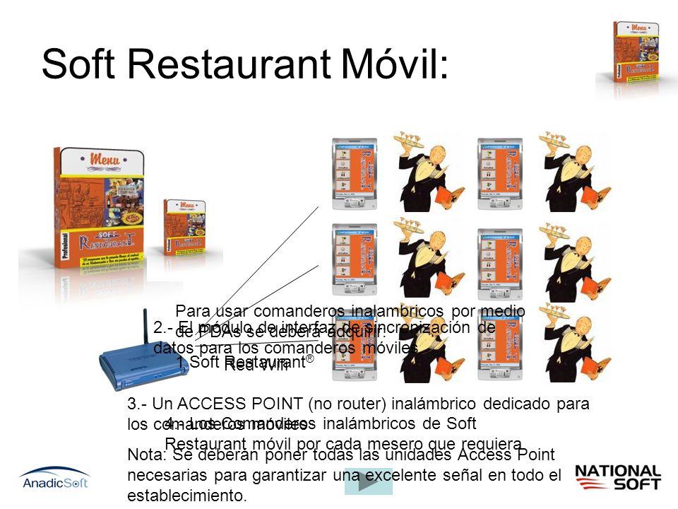 Soft Restaurant Móvil: