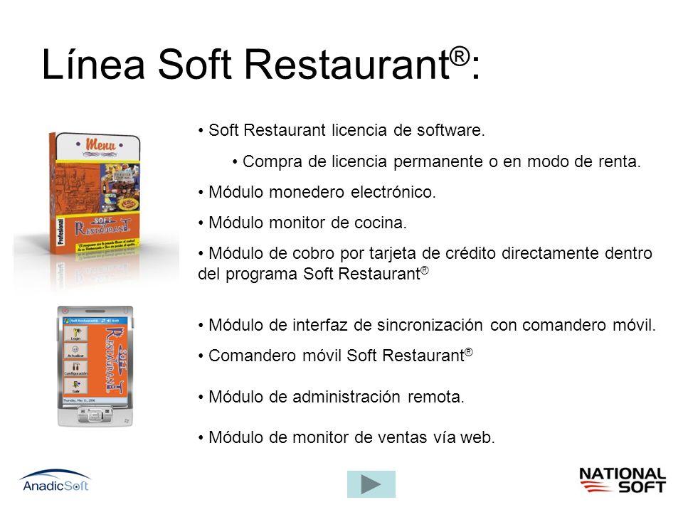 Línea Soft Restaurant®: