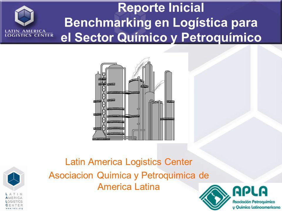 Reporte Inicial Benchmarking en Logística para el Sector Químico y Petroquímico