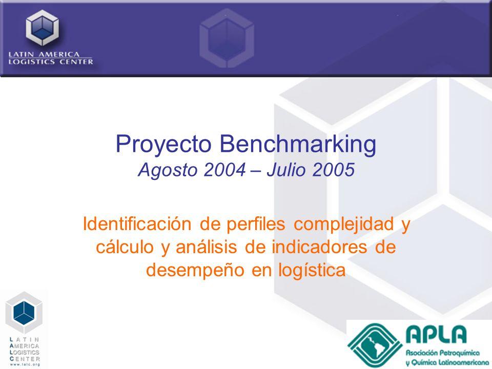 Proyecto Benchmarking Agosto 2004 – Julio 2005