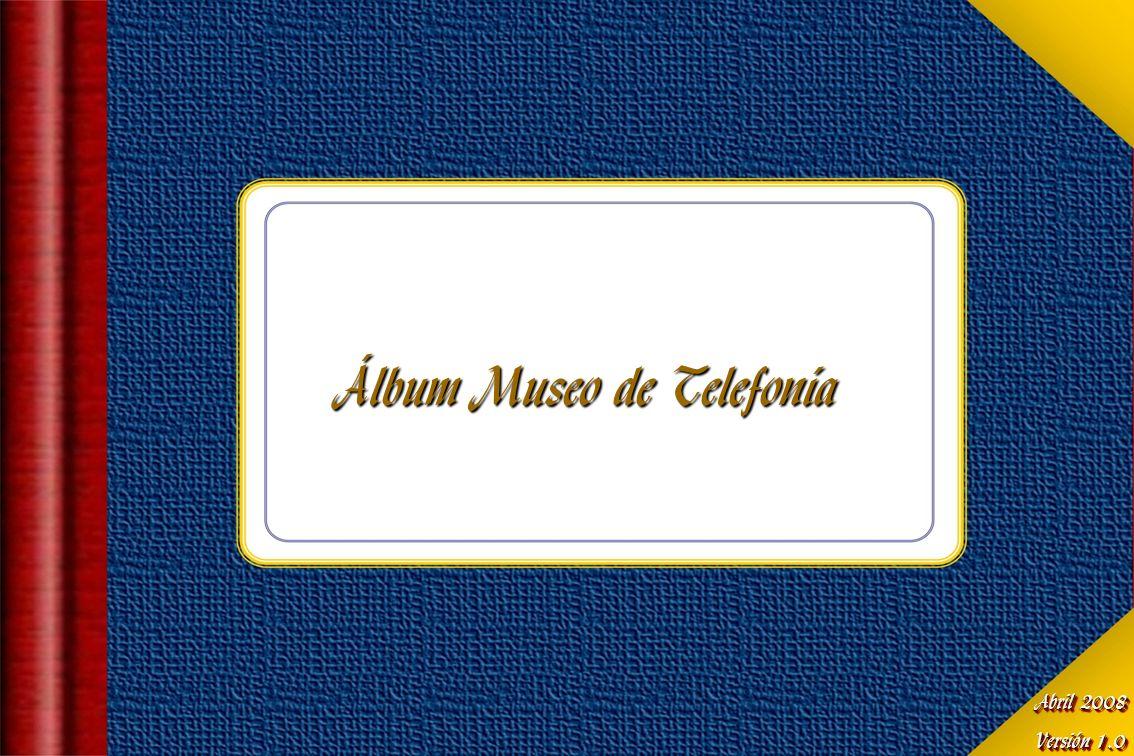 Álbum Museo de Telefonía
