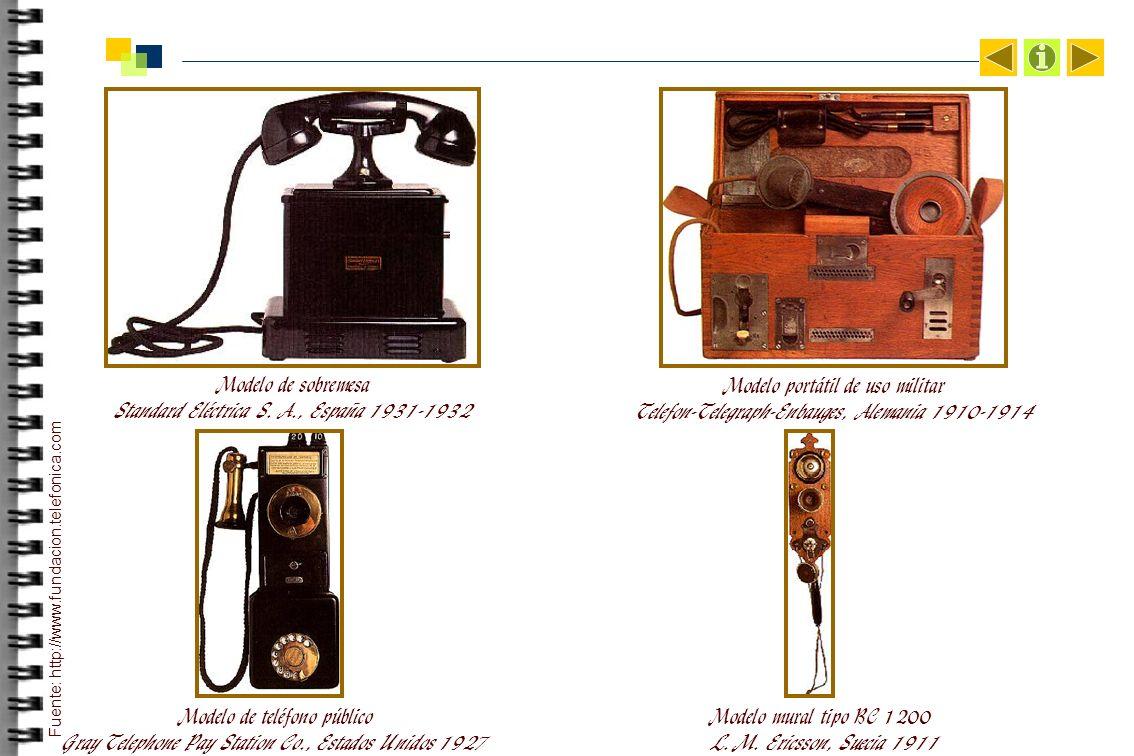 Modelo de sobremesa Standard Eléctrica S. A., España 1931-1932