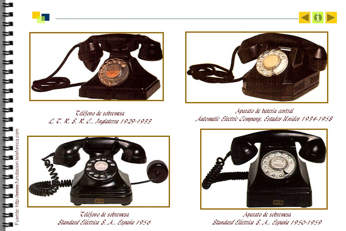 Teléfono de sobremesa L. T. R. S. R. C., Inglaterra 1929-1933