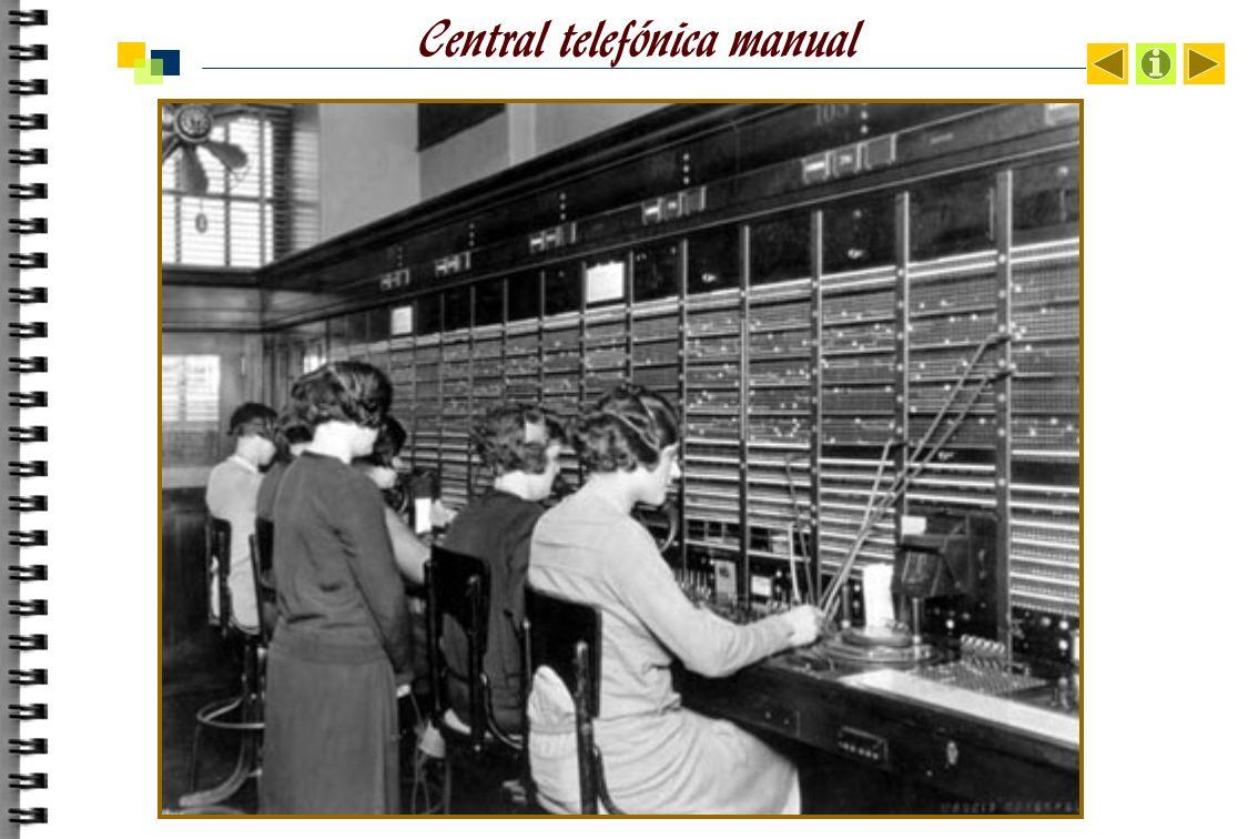 Central telefónica manual