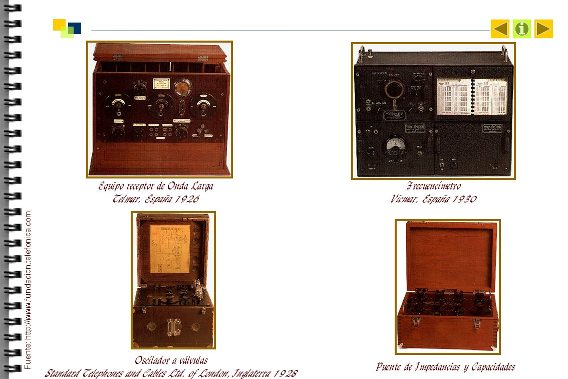 Equipo receptor de Onda Larga Telmar, España 1926