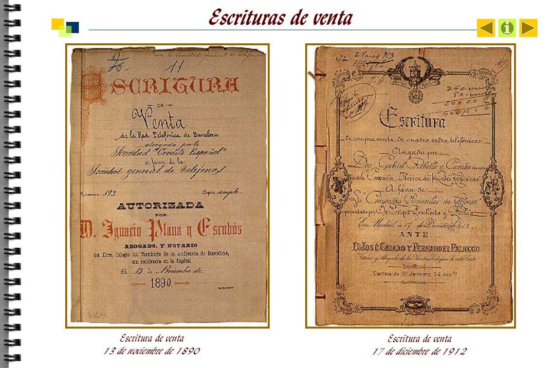 Escrituras de venta Escritura de venta 13 de noviembre de 1890