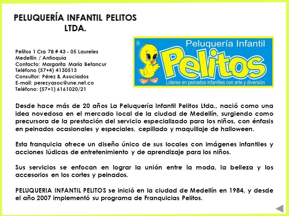 PELUQUERÍA INFANTIL PELITOS LTDA.
