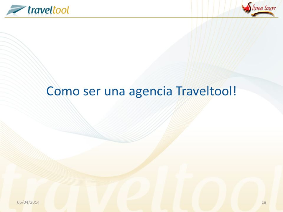 Como ser una agencia Traveltool!
