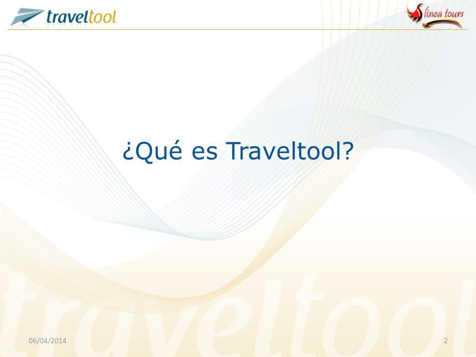 ¿Qué es Traveltool 29/03/2017
