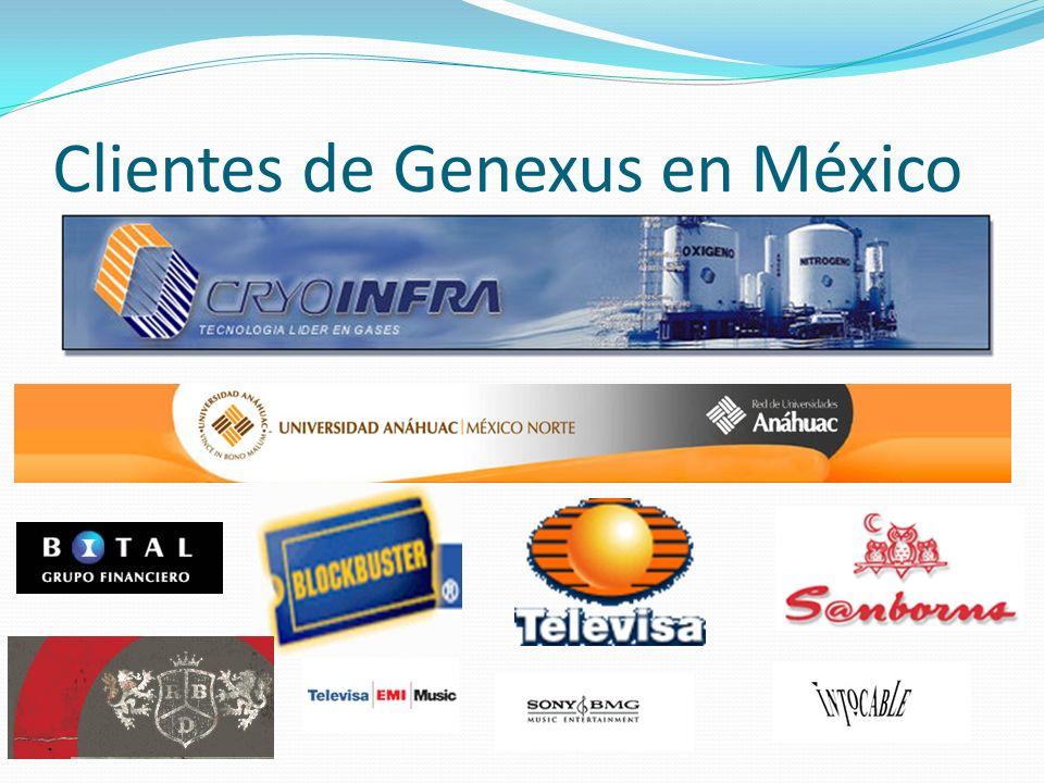 Clientes de Genexus en México