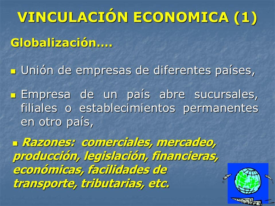 VINCULACIÓN ECONOMICA (1)
