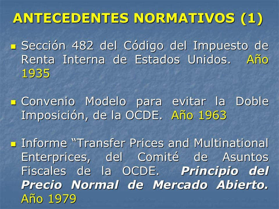 ANTECEDENTES NORMATIVOS (1)