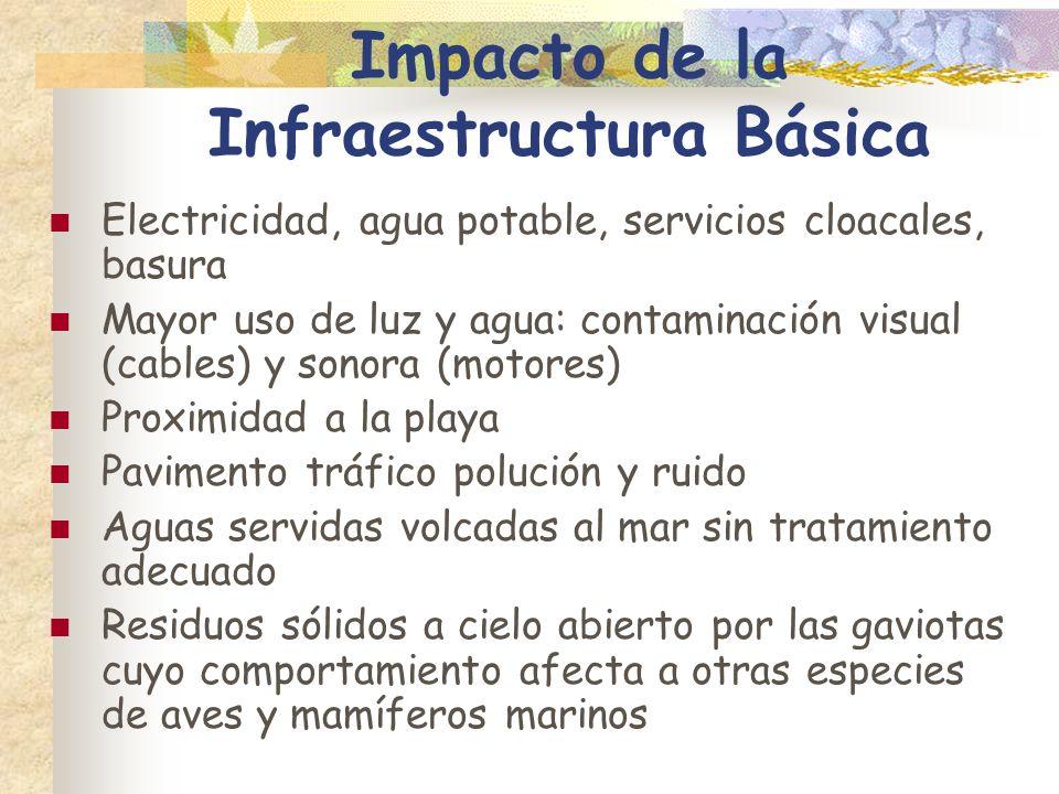 Impacto de la Infraestructura Básica