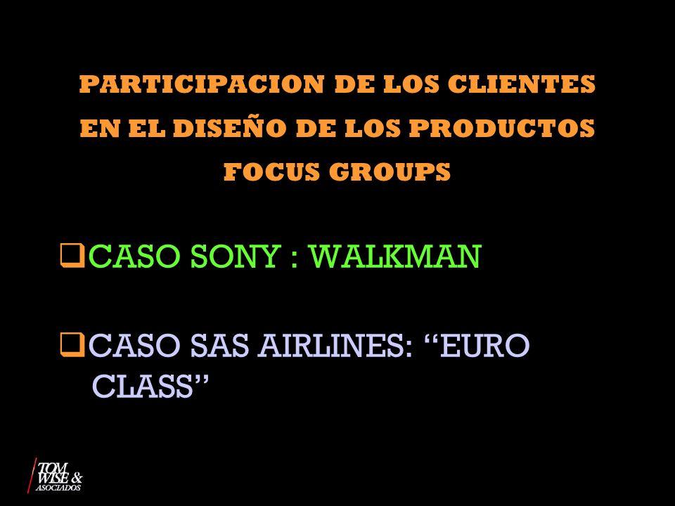 CASO SAS AIRLINES: EURO CLASS