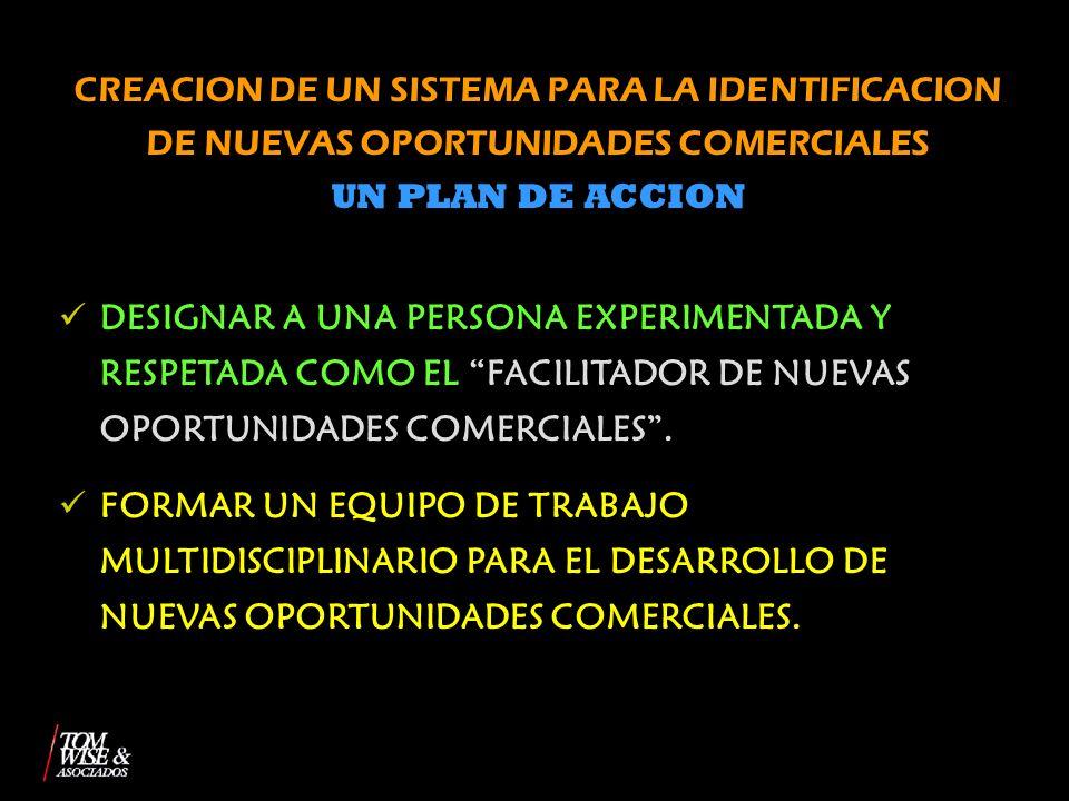 CREACION DE UN SISTEMA PARA LA IDENTIFICACION DE NUEVAS OPORTUNIDADES COMERCIALES
