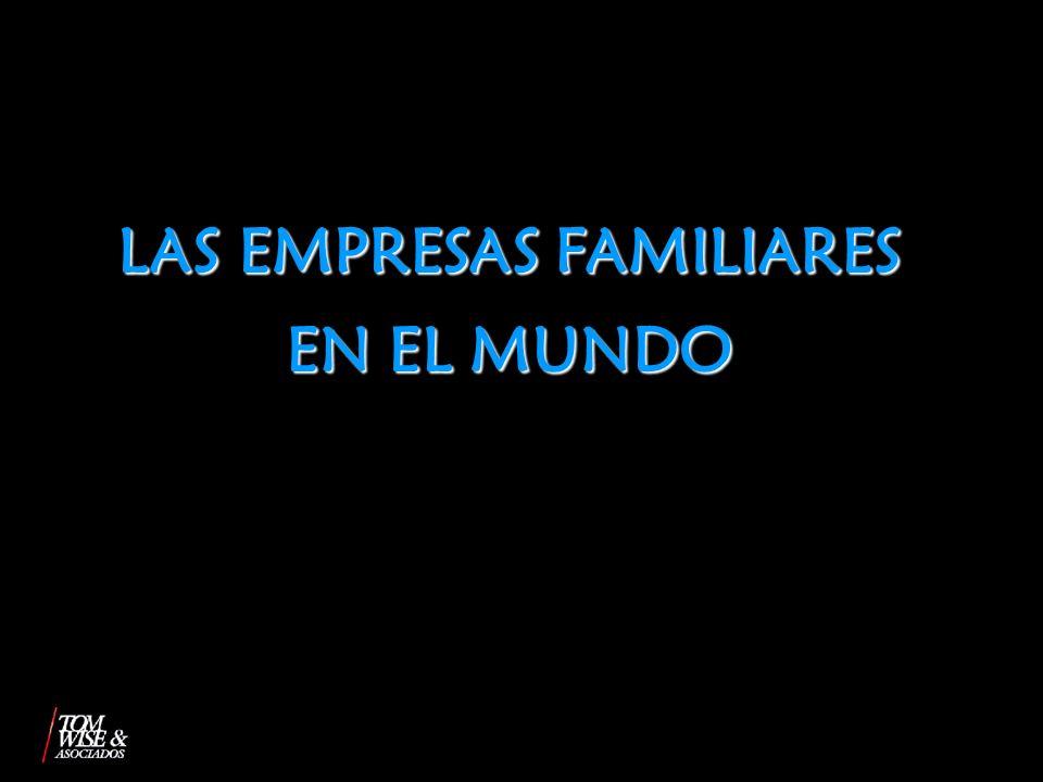 LAS EMPRESAS FAMILIARES EN EL MUNDO