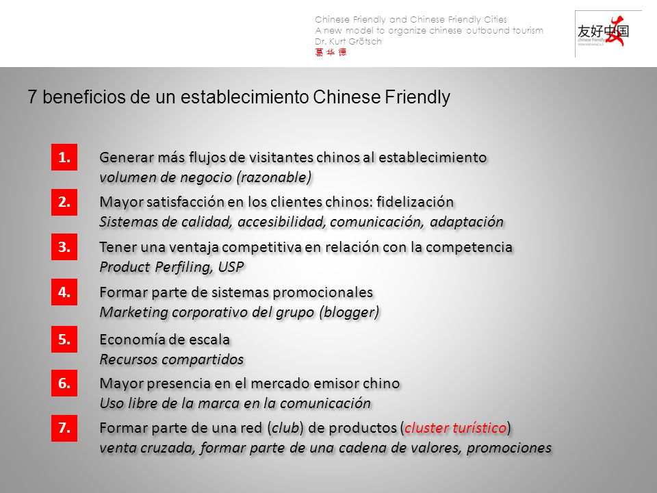 7 beneficios de un establecimiento Chinese Friendly