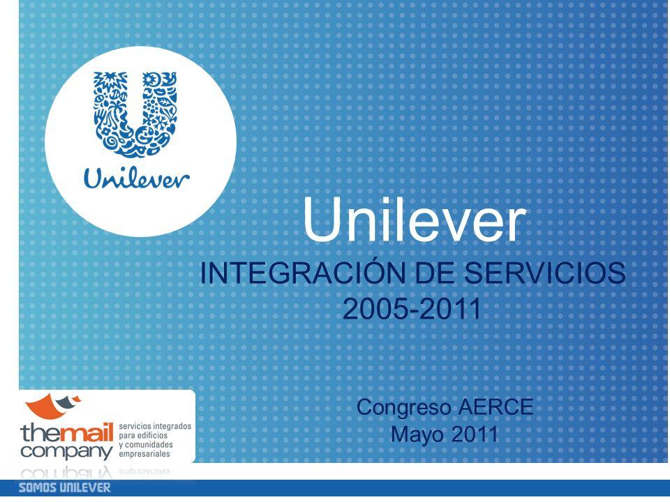 INTEGRACIÓN DE SERVICIOS 2005-2011