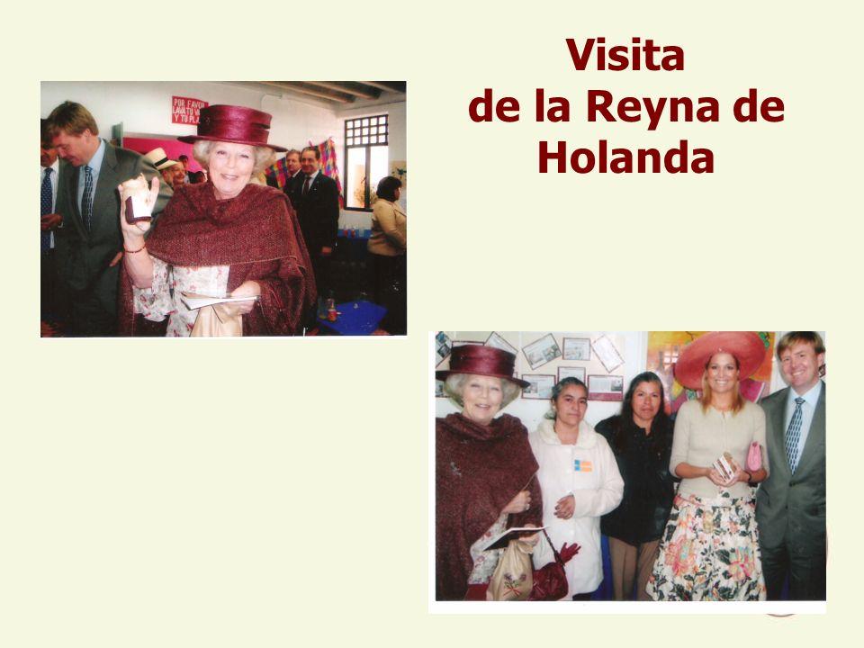 Visita de la Reyna de Holanda