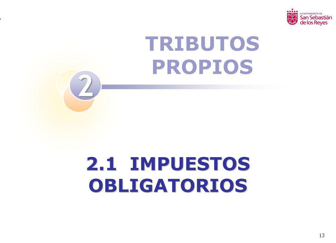 2.1 IMPUESTOS OBLIGATORIOS