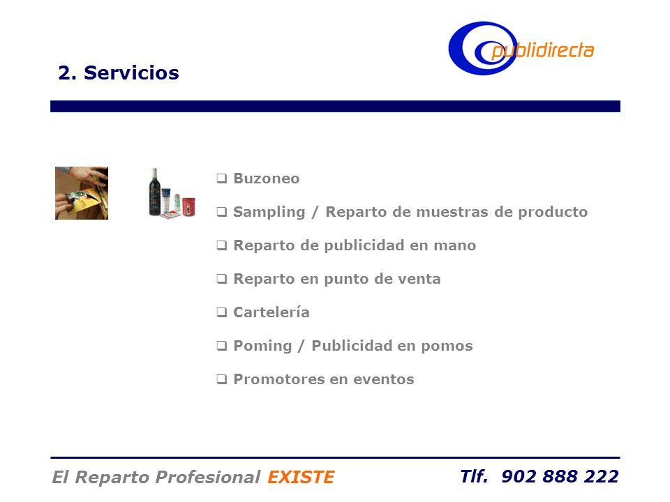 2. Servicios El Reparto Profesional EXISTE Buzoneo