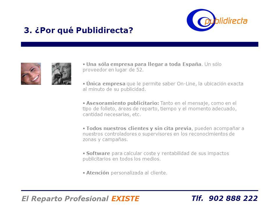 3. ¿Por qué Publidirecta El Reparto Profesional EXISTE