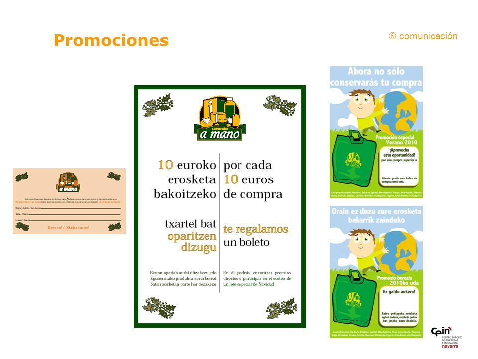  comunicación Promociones