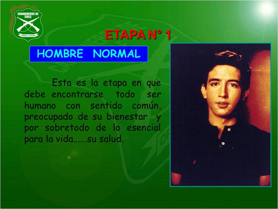 ETAPA N° 1 HOMBRE NORMAL.