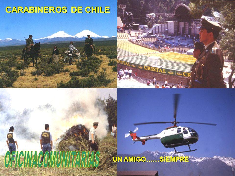 CARABINEROS DE CHILE OFICINACOMUNITARIAS UN AMIGO……SIEMPRE