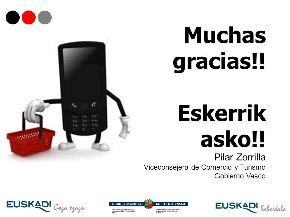 Muchas gracias!! Eskerrik asko!! Pilar Zorrilla